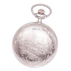 Astron férfi zsebóra, quartz, ezüst színű (vonatos), arab számos