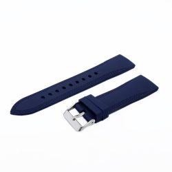 Műanyag szíj, kék színű, 22 mm