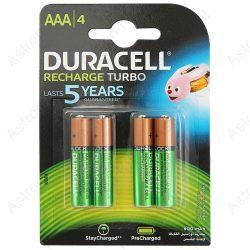 Duracell tölthető microelem 900mAh, bl4/db