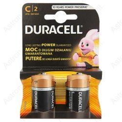 Duracell LR14 MN9100 C tartós babyelem bl2/db