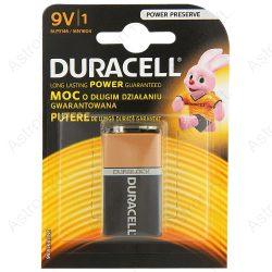 Duracell Basic 6LR61, 9V elem bl1/db