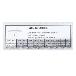 Rugósfül szett, 1.3 / 1.5 mm, 240 db / szett