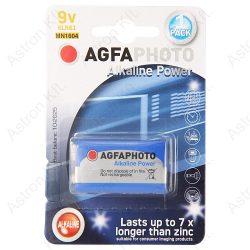 AgfaPhoto alkáli 9V elem B1/db