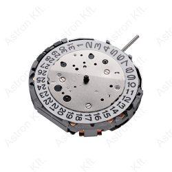 Miyota JS25 quartz szerkezet, chronograph, dátum 4 óránál